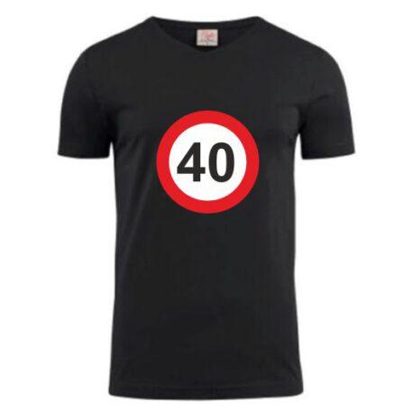 heren shirt 40 zwart