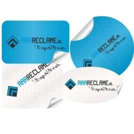 Vinyl stickers rond