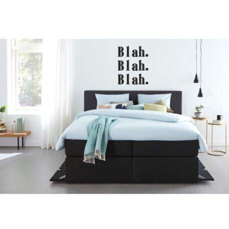 blah blah blah slaapkamer