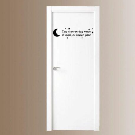 dag sterren dag maan deur