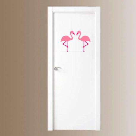 flamingo deur