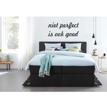 niet perfect is ook goed slaapkamer