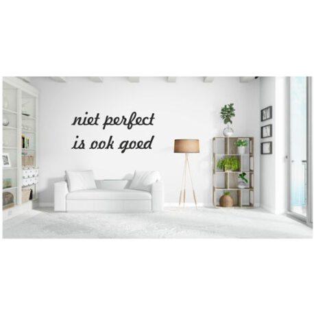 niet perfect is ook goed woonkamer