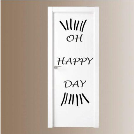 oh happy day deur
