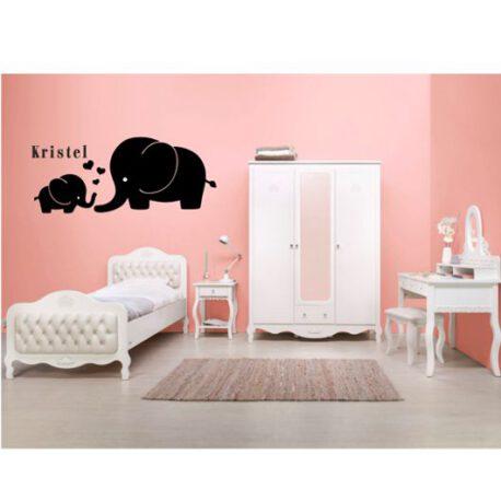 olifant met naam slaapkamer