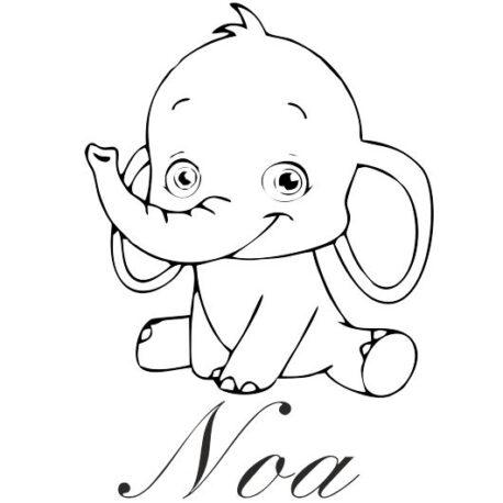 olifantje met naam