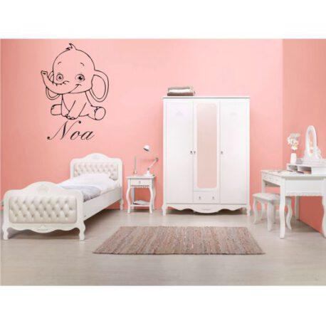 olifantje met naam slaapkamer