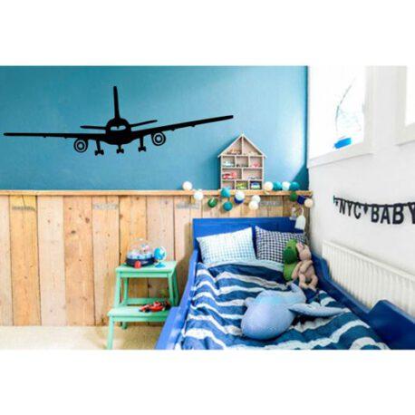 vliegtuig op muur – kopie