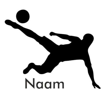voetballer met naammm