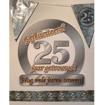 Party Box 25 jaar getrouwd