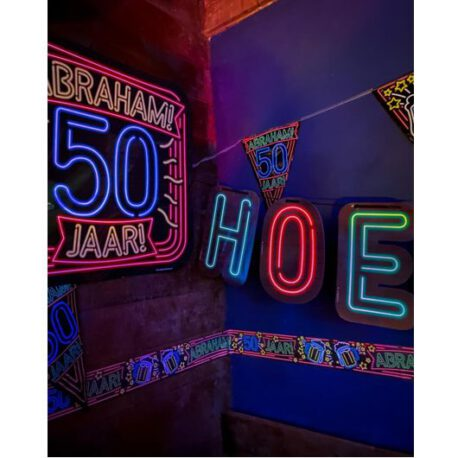 50 abraham neon