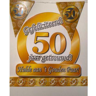 Party Box 50 jaar getrouwd