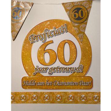 Party Box 60 jaar getrouwd