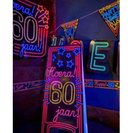 60 neon bord