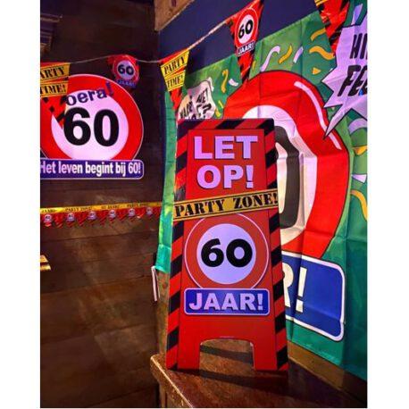 60 verkeersbord