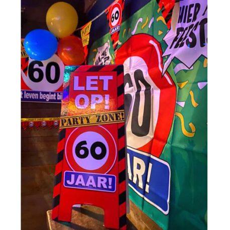 60 verkeersbord balon