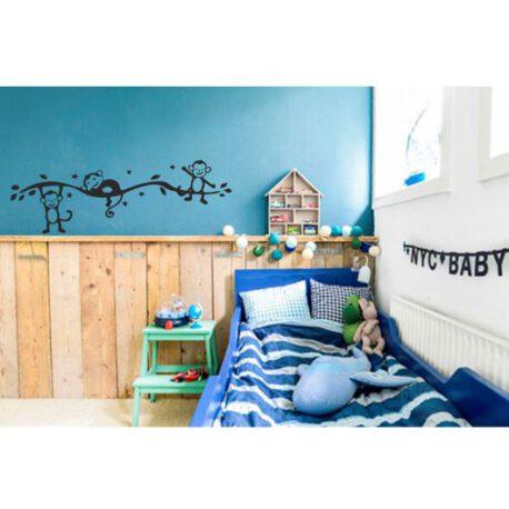aapjes slaapkamer