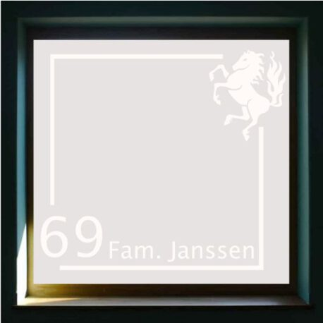 sticker janssen twents 69