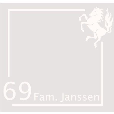 sticker janssen twents 69 afb