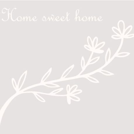sticker raam home sweet homme afb