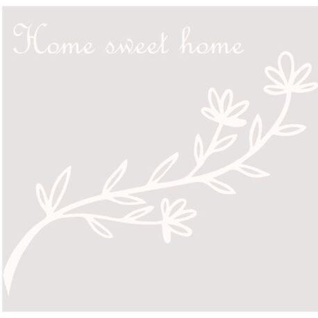 sticker raam home sweet homme afb