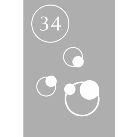 sticker rondjes 34