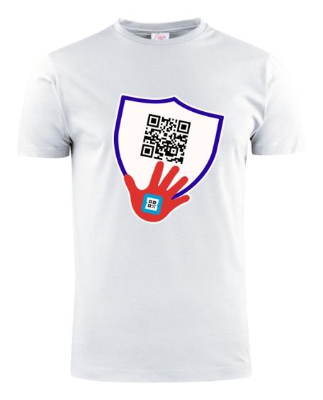 QRCode shirt wit