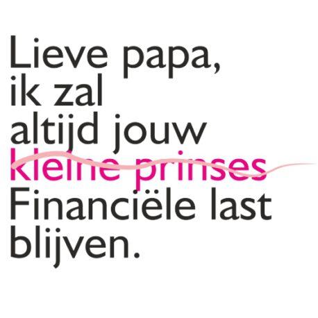 lieve papa tekst