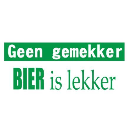geen gemekker bier logo 2.0